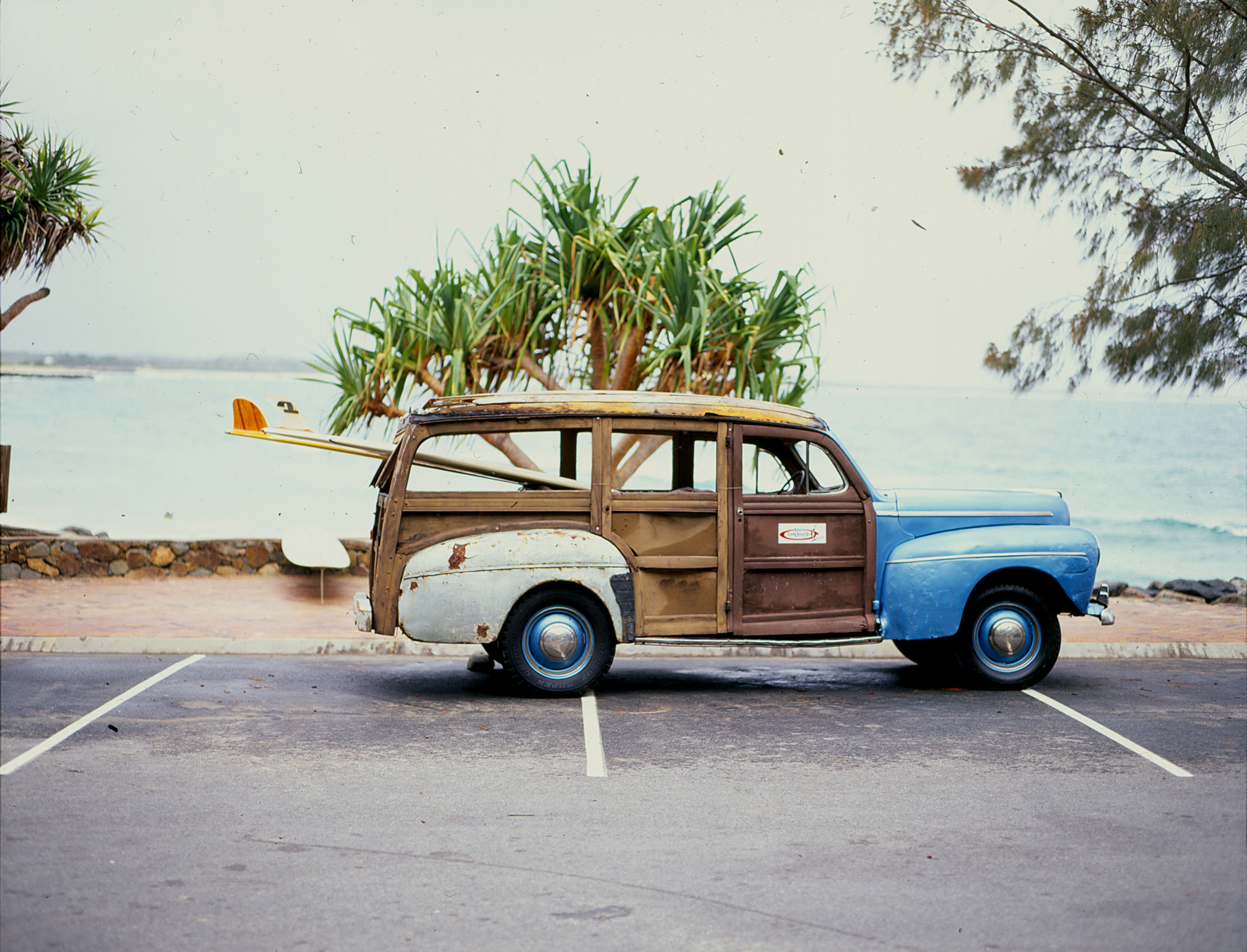 Classic 1946 Ford Woody   Noosa Woody Hire