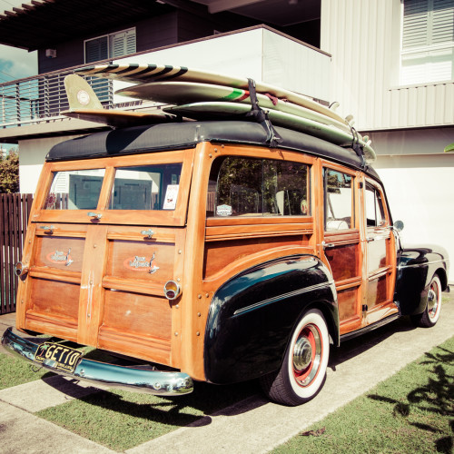 Side shot Noosa Woody